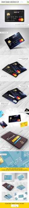 Credit Bank Card Mock-Up (Custom)