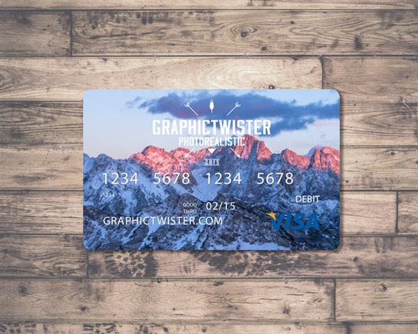 Credit Card Mockup (Custom)