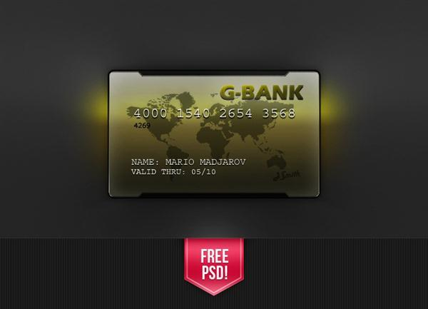 Credit Card PSD (Custom)