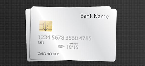 Credit Card PSD Template (Custom)