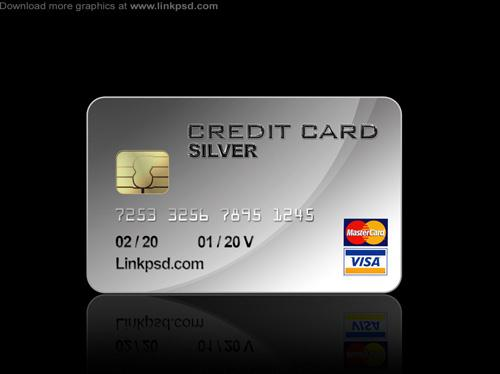 Credit Card PSD file (Custom)