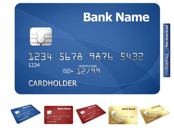 Credit card template (Custom)
