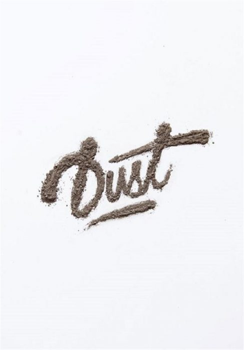 Custom Dirt Typography in Adobe Illustrator (Custom)