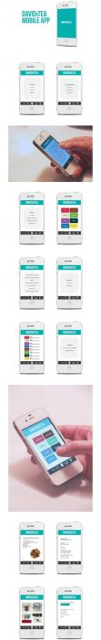 DAVIDsTEA Mobile App (Custom)