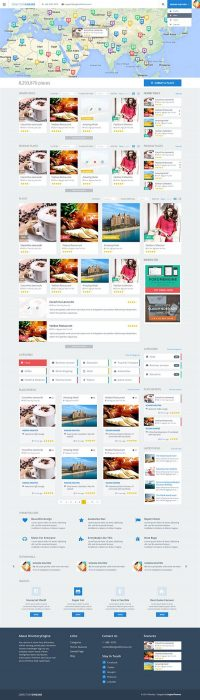 DirectoryEngine WordPress Theme (Custom)