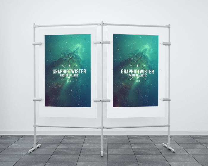 Double Stand Banner