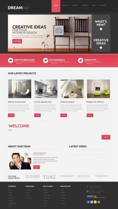 Dreamhome WordPress Theme (Custom)