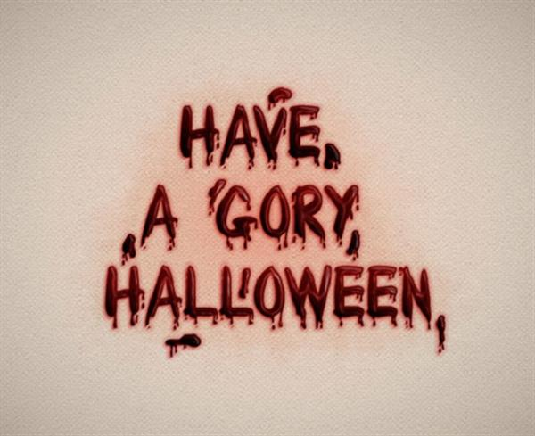 Dripping Blood Text Effect in Adobe Illustrator (Custom)