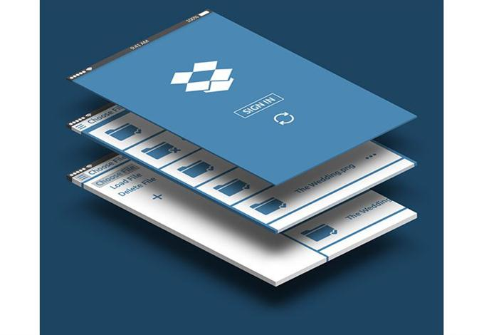 DropBox App Design (Custom)