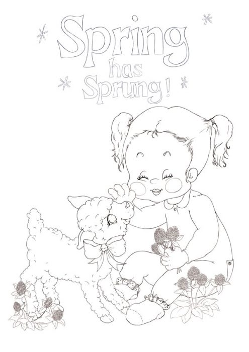 Duplicate a Vintage Drawing Style to Create a Spring Illustration in Adobe Photoshop