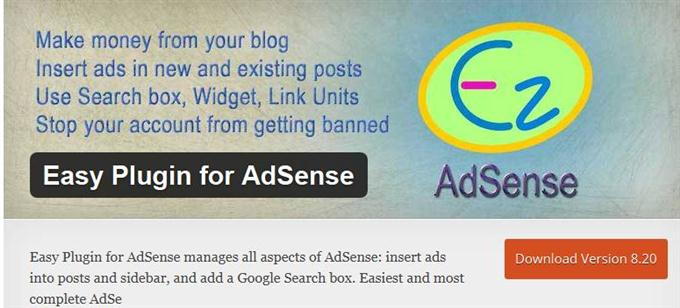 Easy Plugin for AdSense (Custom)