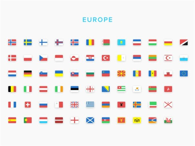 Europe Flags (Custom)