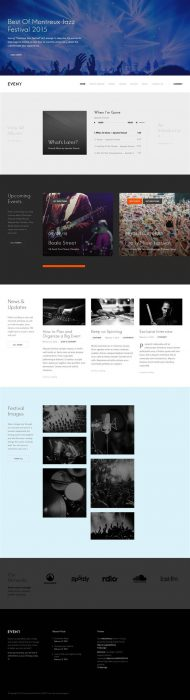 Eveny - Events, Music & Gallery WordPress Theme (Custom)