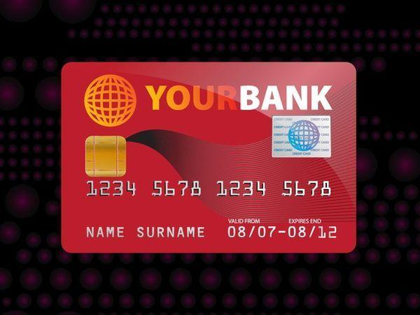 FREE CREDIT CARD MOCK UP VECTOR (Custom)
