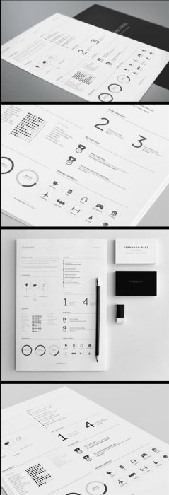 FREE Resume Template by Fernando Báez (Custom)
