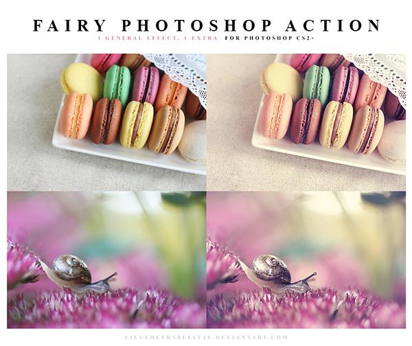 Fairy Photoshop Action (Custom)