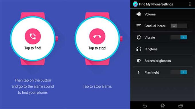 Find My Phone (Android Wear) (Custom)