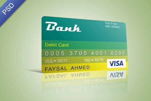 Free Credit Card PSD (Custom)