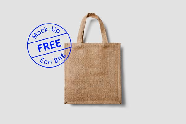 Free Eco Bag MockUp (Custom)