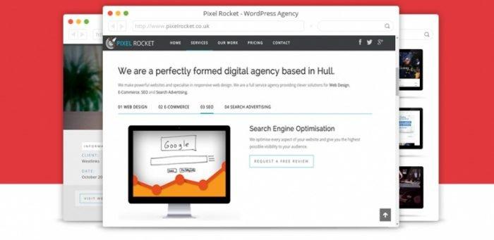31 Browser Mockup PSD Template Design - TechClient
