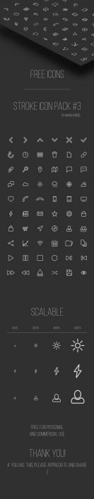 Free Line Icon Pack (Custom)