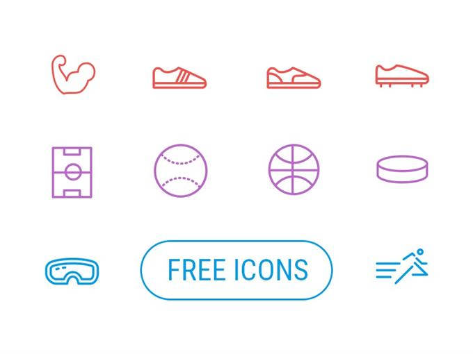 Free Sport Icons by Creative Tail (Custom)