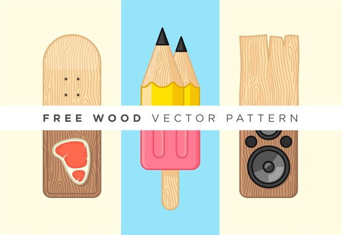 Free Wood Vector Pattern (Custom)