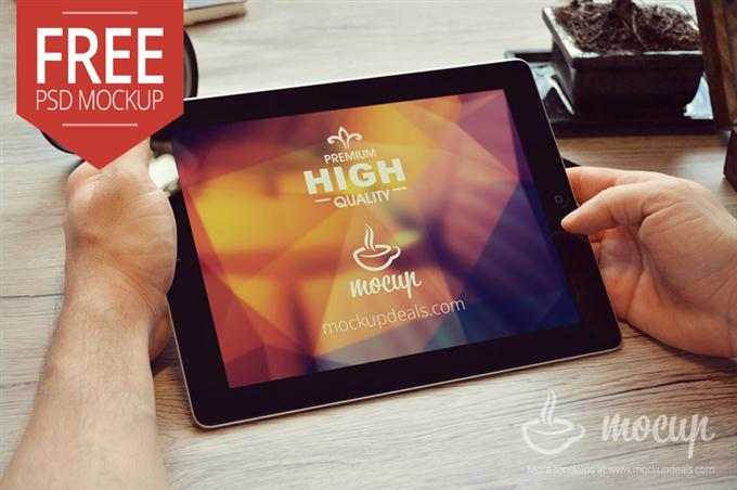 Free iPad Mockup Nottingham (Custom)