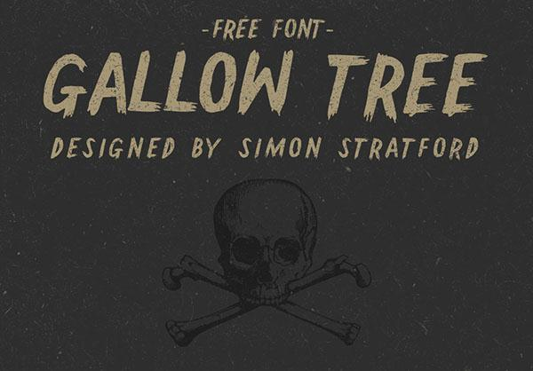 Gallow Tree Free Font (Custom)