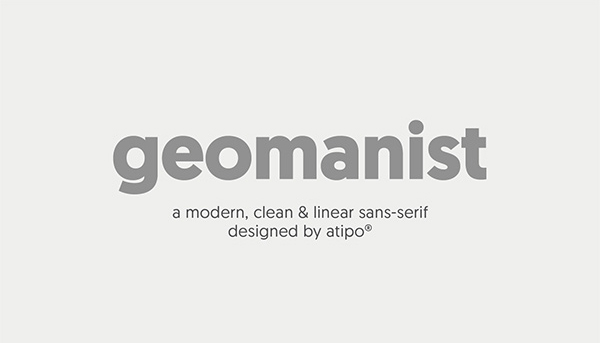 Geomanist Free Font (Regular)