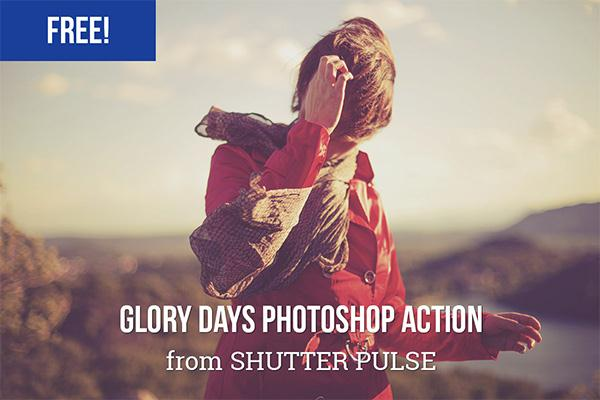 Glory Days Photoshop Action (Custom)