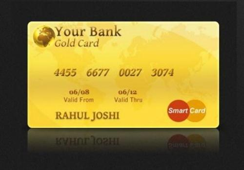 Gold Credit Card Design (Custom)