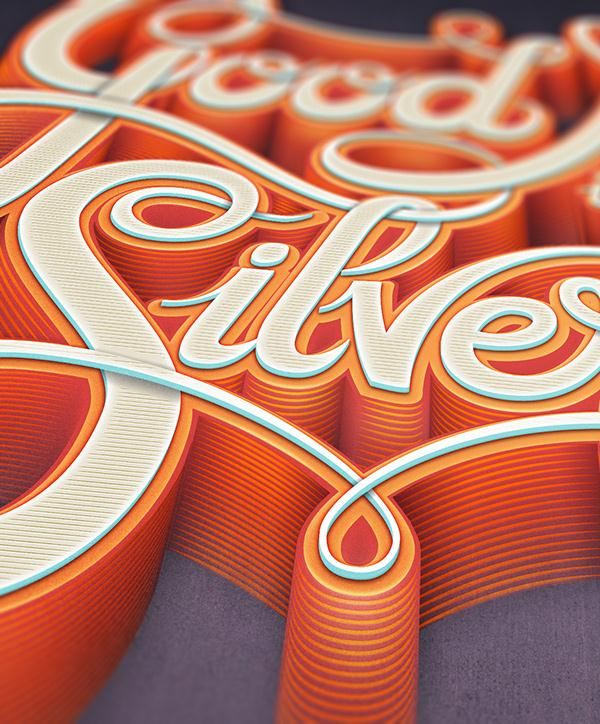 Good Name Is Better Than Silver & Gold - Typographic treatment #1 - close-up (Custom)