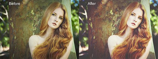 Gorgeous Redheads Photoshop Actions (Custom)