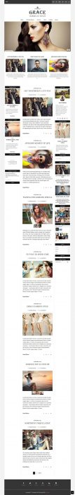 Grace Blogger Template (Custom)