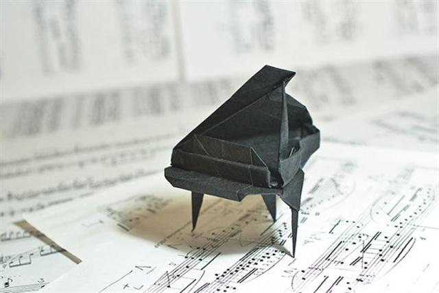 Grand Piano by Patricia Crawford (Custom)