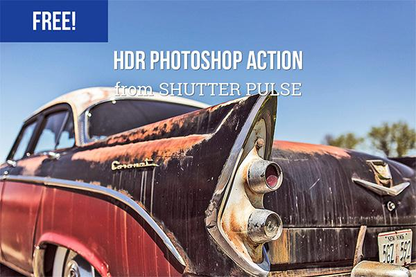 HDR Photoshop Action (Custom)