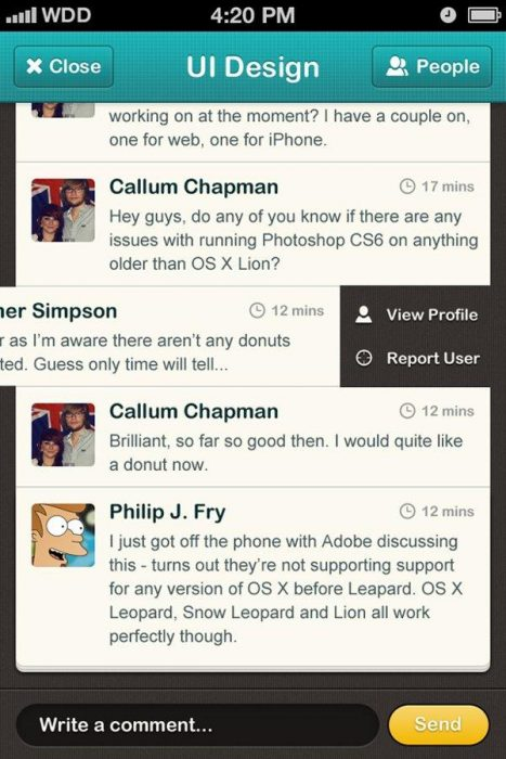 HOW TO DESIGN A CHATROOM IPHONE UI (Custom)