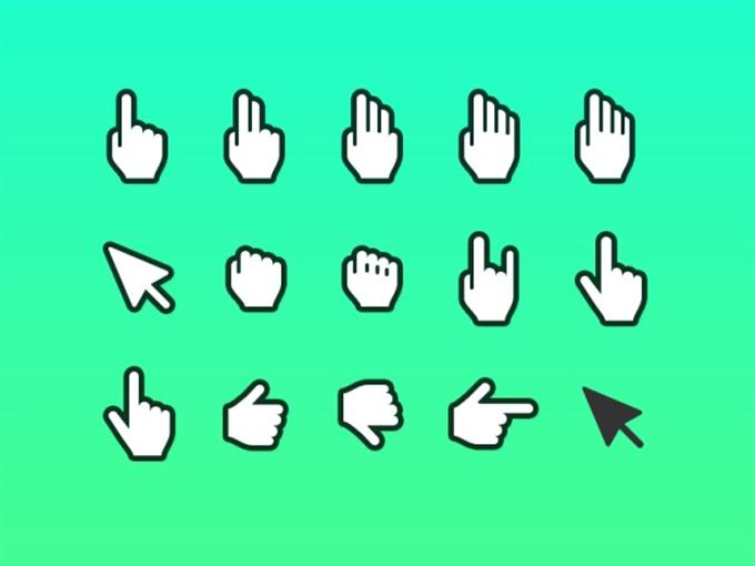 Hand Cursor Icons (Custom)