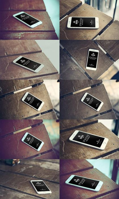 Hosoren – 10 Photorealistic iPhone 6 Free PSD Templates (Custom)