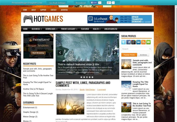 Hot Games (Custom)