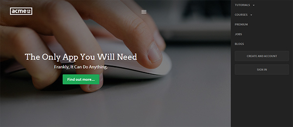 How to Build an Off-Canvas Navigation Layout With Bootstrap