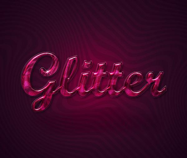 How to Create Extreme Glossy and Shiny Text Effect in Photoshop Tutorial (Custom)