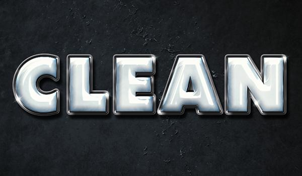 How to Create a Clean, Glossy Plastic Text Effect in Adobe Photoshop (Custom)