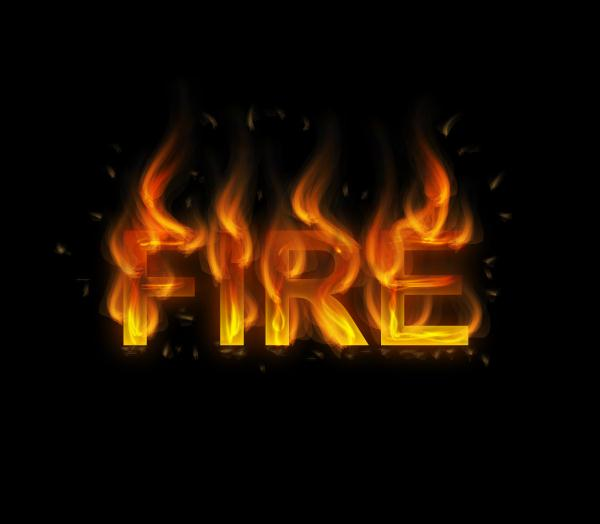 How to Create a Fire Text Effect in Illustrator (Custom)