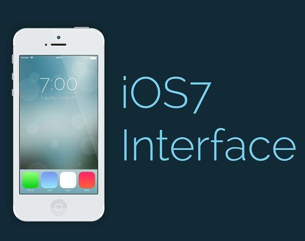IOS7 INTERFACE – PHOTOSHOP CS6 TUTORIAL (Custom)