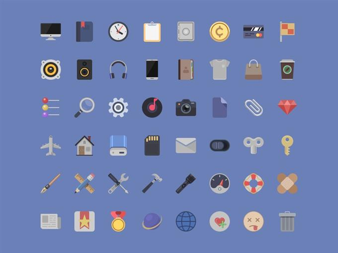 Icons – Free PSD by Sergey (Custom)