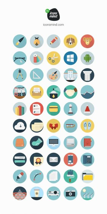 Iconsmind 50 Icons (Custom)
