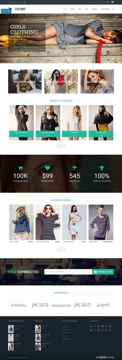 InCart - Responsive WooCommerce WordPress Theme (Custom)