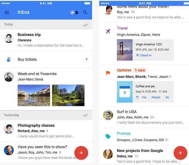 Inbox by Gmail – the inbox that works for you